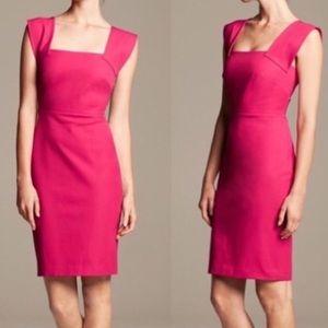 Roland Mouret Pink Sleeveless Mini Dress 6